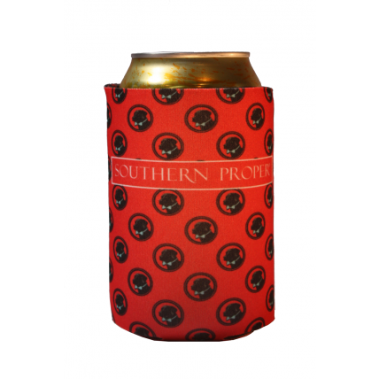 Red Logo Coozie
